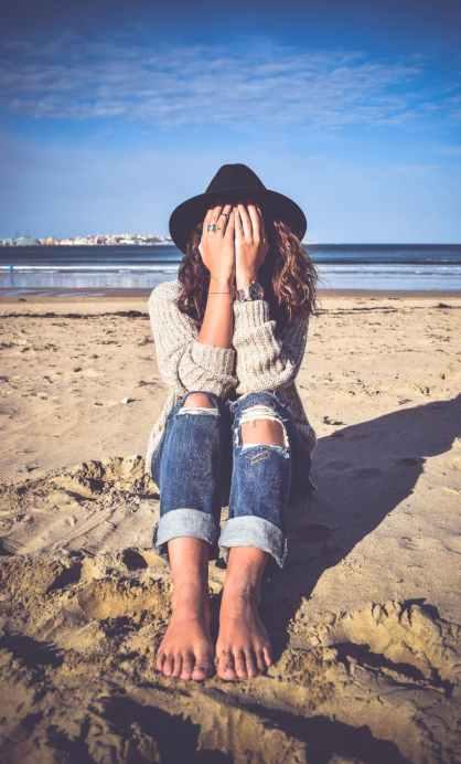 beach beauty fun girl